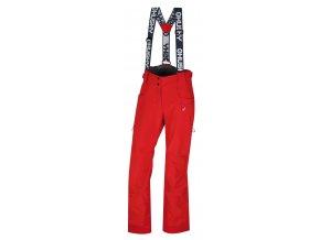 Husky Galti L dámské lyžařské kalhoty jemná červená