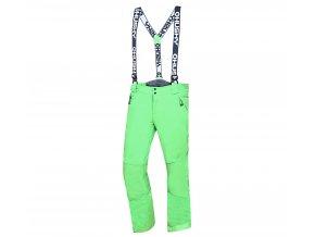 Husky Galti M pánské lyžařské kalhoty sv. zelené