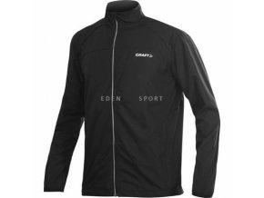 CRAFT ACTIVE RUN JACKET pánská sportovní bunda černá