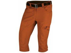 Husky Klery M pánské 3/4 kalhoty tmavě oranžové