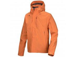 panska-outdoorova-bunda-husky-neta-tmave-oranzova