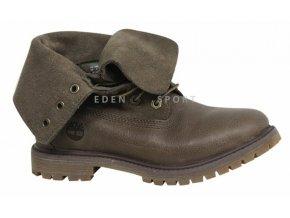 TIMBERLAND Auth 6 Inch dámská kotníková obuv hnědá