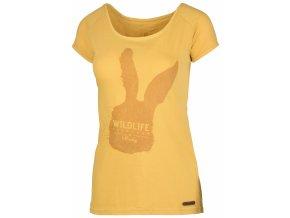 damske-tricko-husky-rabbit-kremove-zlute