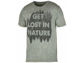 Husky Bronson pánské tričko světle šedé