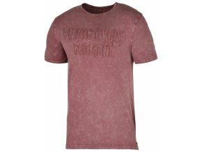 Pánské tričko Husky Bueno tmavě cihlové