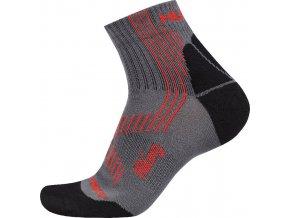 Ponožky Husky Hiking červená