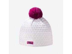 Kama Kamakadze K 36-101 dámská pletená Merino čepice přírodně bílá