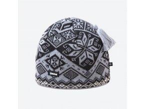 Kama AW 61-109 pletená merino čepice světle šedá