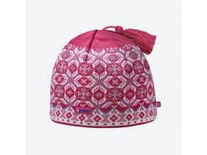 Kama A 57-114 pletená merino čepice růžová