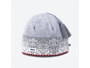 Kama A 52-109 pletená merino čepice světle šedá