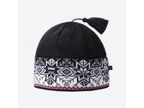 Kama A 52-110 pletená merino čepice černá