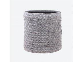 kama s 26 109 merino pleteny nakrcnik svetle sedy