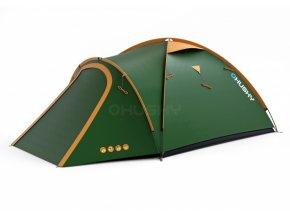 Husky Stan Outdoor Bizon 4 classic zelená  + Slevový kupón v hodnotě 100 Kč ZDARMA