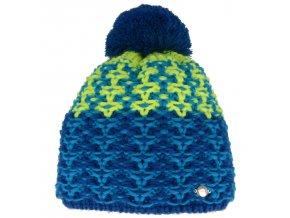 relax amelia zimni cepice modro zluta
