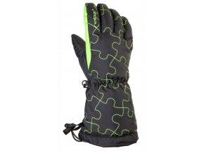 Relax Puzzy dětské lyžařské rukavice RR15A