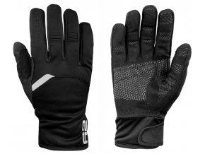 relax r2 storm zateplene rukavice cerne