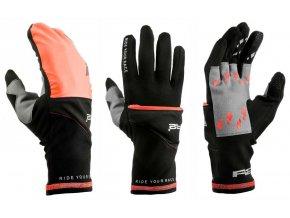 relax r2 cover zateplene rukavice oranzove
