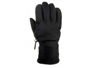 relax icepeak lyzarske rukavice cerne