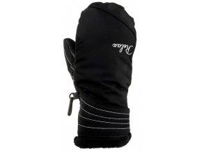 relax heat lyzarske rukavice cerno bile