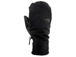 relax heat lyzarske rukavice cerne