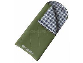 Husky spacák dekový Kids Galy -5°C-zelená