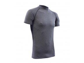 Nanosilver pánské termo tričko tmavě šedé