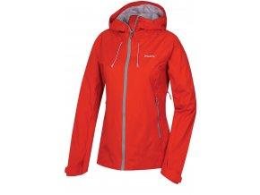 husky-nicker-damska-outdoorova-bunda-cervena