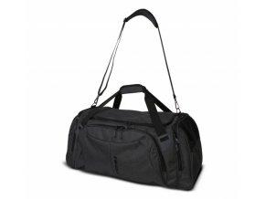 trimm duffel taska cerna