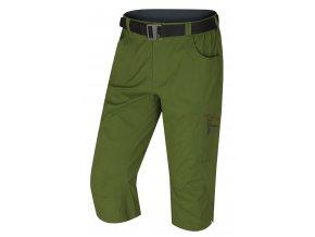 husky-klery-panske-3-4-kalhoty-tmave-zelene