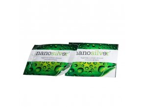 nanosilver antibakterialni ubrousky na ruce 10 ks