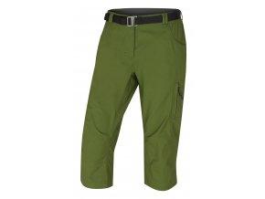 husky-klery-damske-3-4-kalhoty-tmave-zelene
