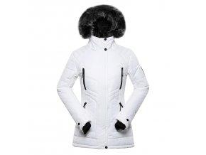 alpine pro icyba 6 damska zimni bunda bila