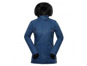 alpine pro icyba 6 damska zimni bunda modra