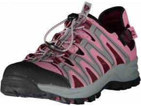 alpine pro donia damske letni boty ruzove