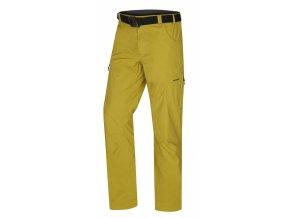 husky-kahula-panske-outdoorove-kalhoty-zlutozelene