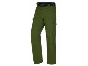 husky-kahula-panske-outdoorove-kalhoty-tmave-zelene