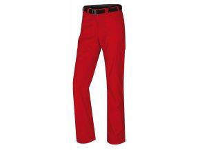 husky-kahula-damske-outdoorove-kalhoty-cervene