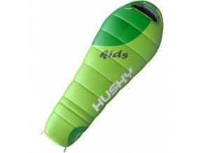 Husky Kids Magic -12°C dětský spací pytel zelený