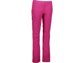 nordblanc inviting damske outdoorove kalhoty ruzove