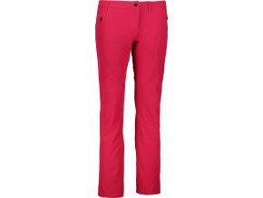 nordblanc wield damske outdoorove kalhoty cervene