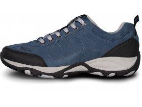Nordblanc Main pánské kožené boty modré