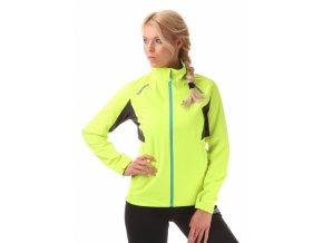 nordblanc perfect damska sportovni bunda zluta