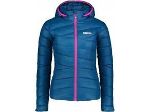 nordblanc gritty damska perova bunda modra