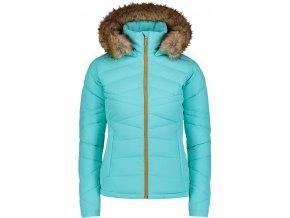 nordblanc pucker damska zimni bunda tyrkysova