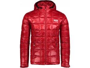 nordblanc blaze panska perova bunda cervena