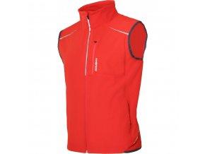 Husky Tony pánská softshellová vesta červená