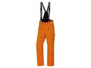 husky-gilep-panske-lyzarske-kalhoty-oranzove