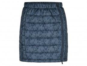 loap irulia damska sportovni sukne modra