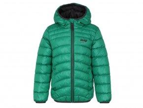 loap infery detska zimni bunda zelena