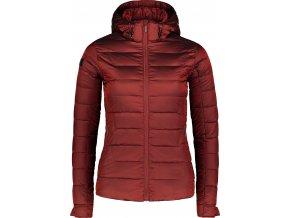 Nordblanc Bless dámská péřová bunda červená